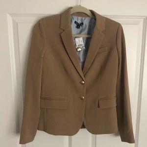 Classic camel blazer - never worn!